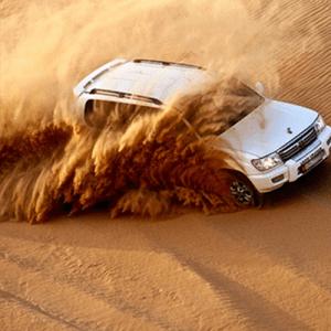 Desert Safari Jeep