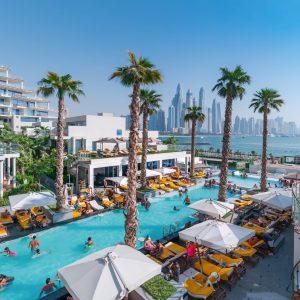 FIVE Palm - Social Pool - Five Palm Jumeirah Dubai