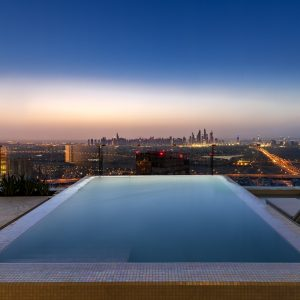 Five Jumeirah Village - 4 bed penthouse pool