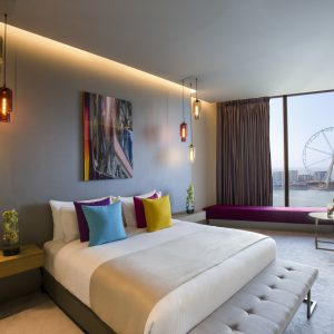 Deluxe Bedroom - Rixos Premium Dubai JBR