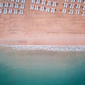 Rixos Beach aerial