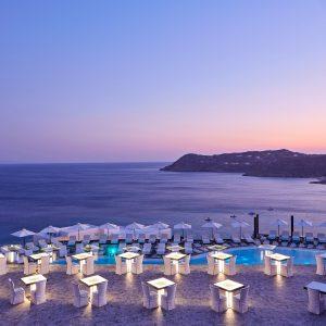 Royal Myconain Mykonos - Sunset Terrace