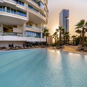 Five Jumeirah Village Social Pool
