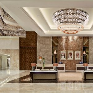 Waldorf Astoria Dubai Reception