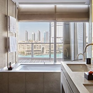 Armani Hotel Dubai Ambassador Suite Bathroom