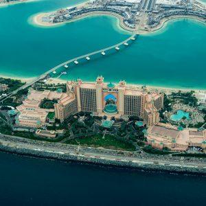 Aerial Views of Dubai