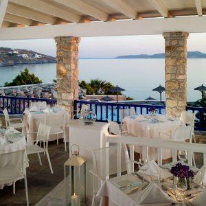 Mykonos Grand Hotel - Dolphins of Delos Restaurant