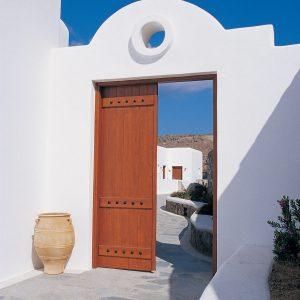 Mykonos Grand Hotel - Cycladic Entrance