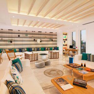 Mykonos Grand Hotel - Library