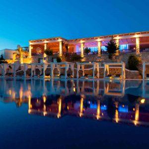 Mykonos Grand Hotel - Restaurant Elevation